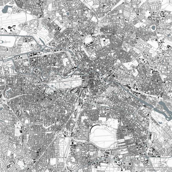 berlin figure ground diagram Schwarzplan