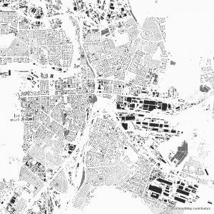 Chelyabinsk Figure-ground diagram Schwarzplan