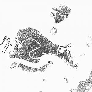 venice figure ground diagram Schwarzplan